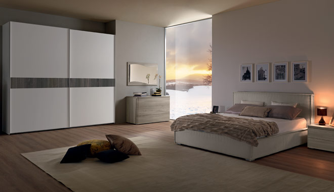 Furniture for bedroom classic style, and modern epoque marion