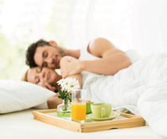 Ricette d 39 amore le colazioni a letto - Vassoio colazione letto ...
