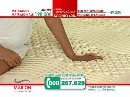 Offerta materasso marion evolution il nuovo materasso in for Marion materassi offerte 2017