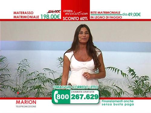 Modella marion materassi for Materassi lamantin spot