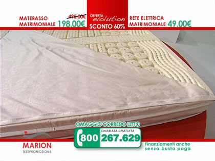 Offerta materasso in lattice marion e rete a doghe in for Eminflex materasso singolo 79 euro