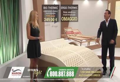 Materassi materassi in lattice 100 marion fabbrica di for Marion materassi offerte 2017