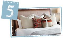 Ultimi ritocchi per un letto perfetto