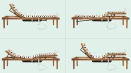 Rete letto motorizzata rete letto elettrica a doghe in - Giramenti di testa alzandosi dal letto ...