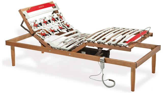 Rete letto motorizzata rete letto elettrica a doghe in legno di faggio - Rete letto elettrica prezzo ...