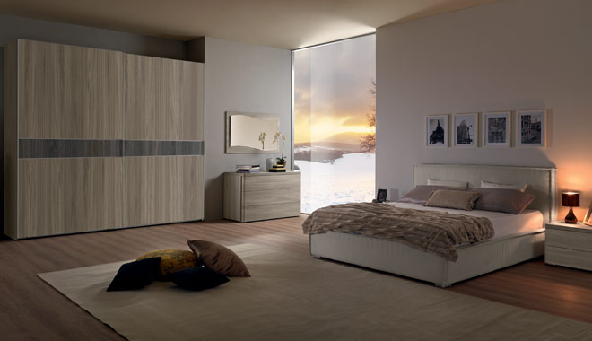 Furniture for bedroom classic style and modern epoque marion - Composizione camera da letto ...