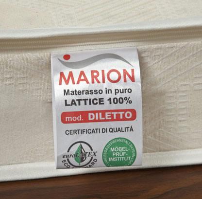 Materasso in lattice Biothermic Marion