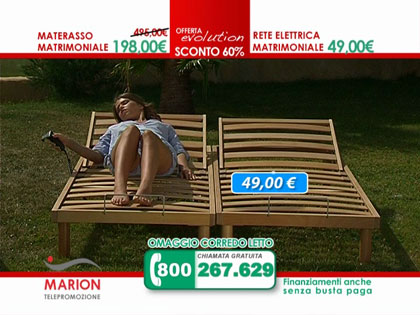 Offerta materasso in lattice marion e rete a doghe in for Materassi eminflex offerte
