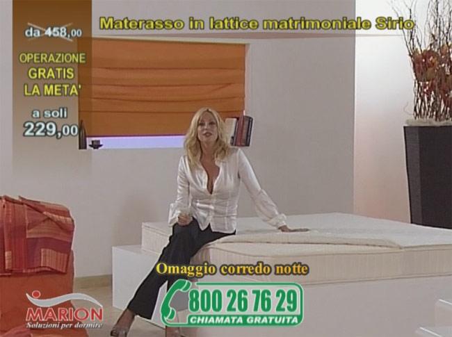 Offerta in televendita: materasso in lattice Sirio opinioni