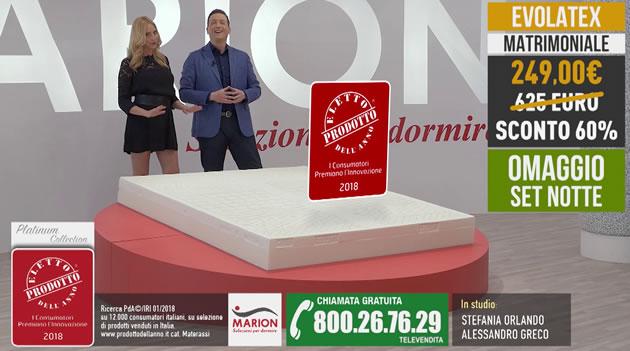 Marion Materassi Prezzi.Offerta Total Comfort Materasso Evolatex A 249