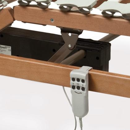 Rete letto motorizzata rete letto elettrica a doghe in legno di faggio - Gambe rete letto ...
